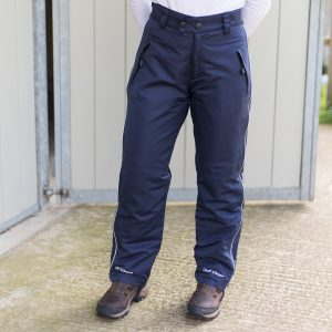 Waterproof Riding Trousers – Stay Clean and Dry.