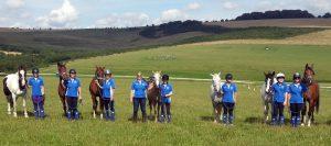 Endurance riding chaps worn by Scottish Endurance