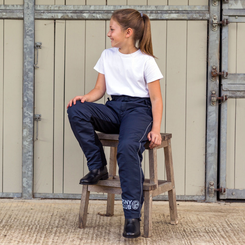Pony Club Riding Chaps Waterproof Trousers