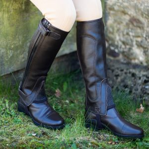 Just Chaps Leather Half Chaps perfect for dressage