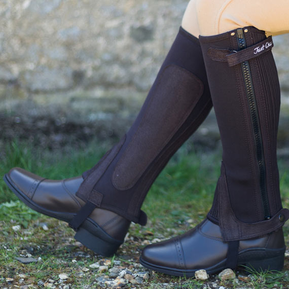 How to choose half chaps