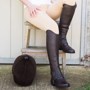 Can I wear Half Chaps or Gaiters for Dressage?