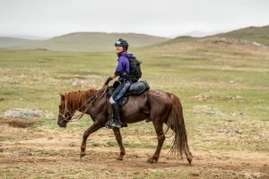 Mongol Derby Day One: August 6, Start Line to HS 3