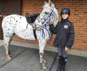 Just Chaps is proud to support Suzie Todd, an Endurance GB young rider