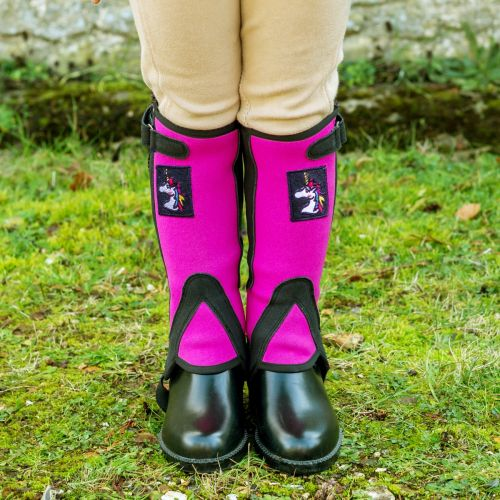 Dinky Half Chaps with Unicorn Motif (Age 2 to 4 years)