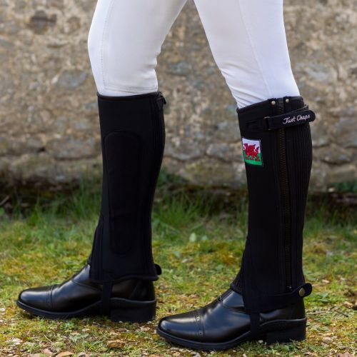 National Team Half Chaps with Flag (Adult)